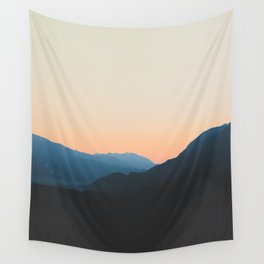 West Coast Sunset Wall Tapestry