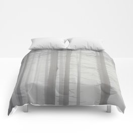 Shades of fog Comforters