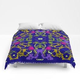 CA Fantasy Deep Blue-Color series #3 Comforters