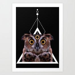 MYSTICHOWL Art Print