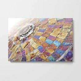 Colorful Beautiful Water Fountain Metal Print