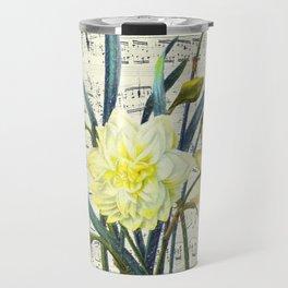 Daffodil Spring Song Travel Mug
