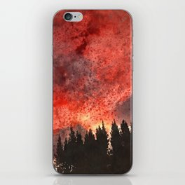 Red Sky at Night. iPhone Skin