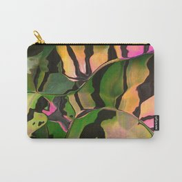 Vegetarian Zebra Carry-All Pouch