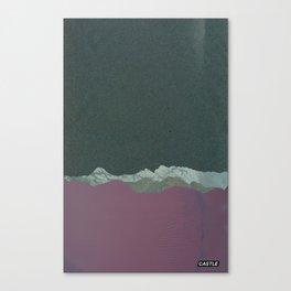 SURFACE #4 // CASTLE Canvas Print