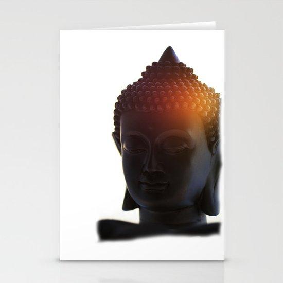 Buddha Lights Stationery Cards