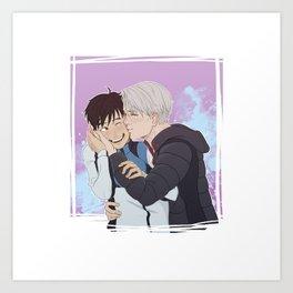 Kisses from Victor - Agape Art Print