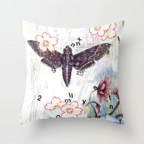 When Words Are Silent Throw Pillow
