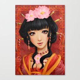 Chinese thought - Pensée chinoise Canvas Print