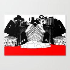 Demolition Derby 1984 Canvas Print