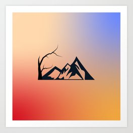 the cute picture makes you comfortable Art Print