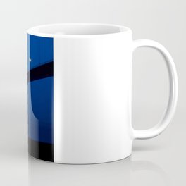 The bridge and the bench Coffee Mug