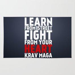 Learn from the Street Krav Maga Rug