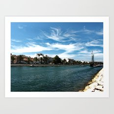 lagos Art Print