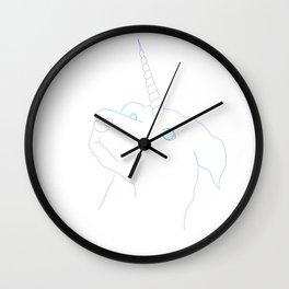 Dogicorn Wall Clock
