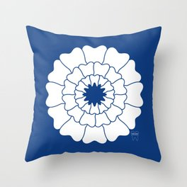 Bloomin' Smile custom 1 Throw Pillow
