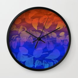 after golden hour Wall Clock