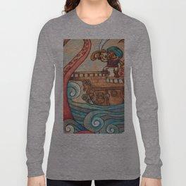 Simbad: Monsters of deep sea. Long Sleeve T-shirt