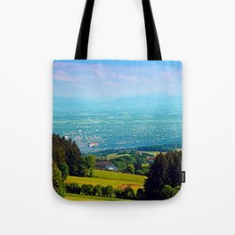 Urban and rural all together Tote Bag
