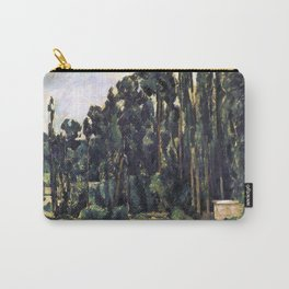 1880 - Paul Cezanne - Poplars Carry-All Pouch