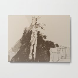 I Am Not Frightened of Dying Metal Print
