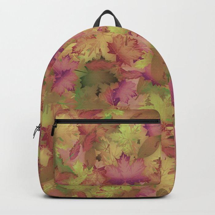 A Pile of Leaves Backpack