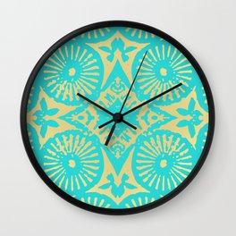 aquagold flower power 3 Wall Clock