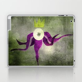 King octopus in grey Laptop & iPad Skin
