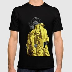 Breaking Bad: Walt and Jesse Mens Fitted Tee LARGE Black