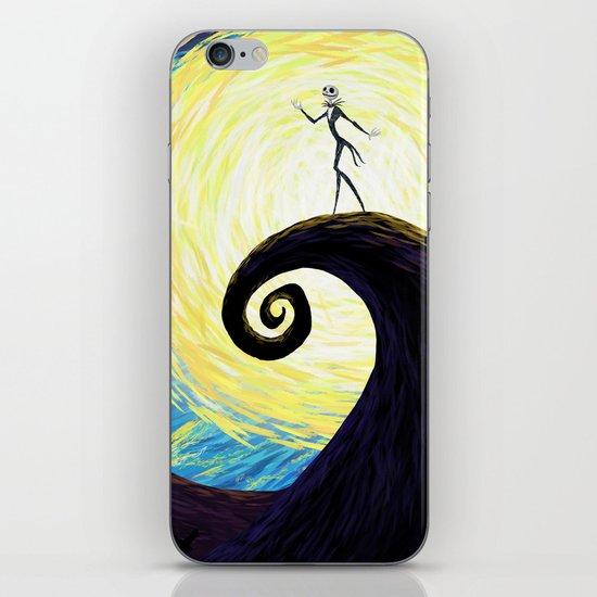 Starry Nightmare iPhone & iPod Skin