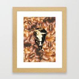 A horse among muscles Framed Art Print