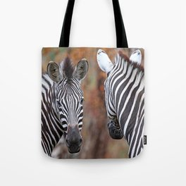 Back and forth - Africa wildlife Tote Bag