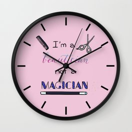 Beautician Wall Clock