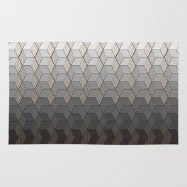 Pattern #6 Greyscale Rug