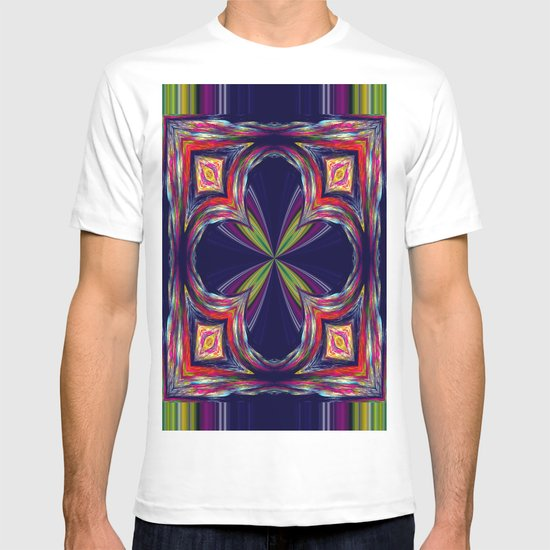 Colorful Square T-shirt