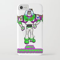 buzz lightyear iPhone & iPod Cases featuring Buzz Longgoner...  The spookier version of Pixar's Buzz Lightyear from Toy Story by beetoons