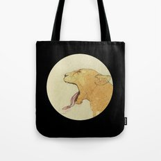 The lady and the lion. Tote Bag