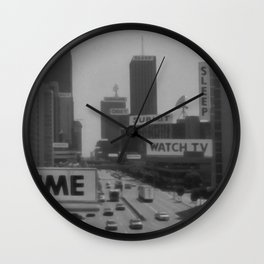 Living in They Live Wall Clock