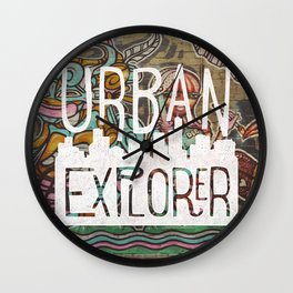 URBAN EXPLORER Wall Clock