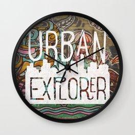 URBAN EXPLORER Wall Clock