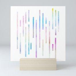 Minimalist Lines - Pastel Mini Art Print