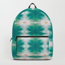 Waves and Sand Summer Pattern Backpack