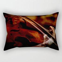 Lacrimosa Violinist Rectangular Pillow