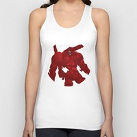 coyote Tank Tops featuring Coyote by ChrisLufthound