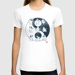 Pug Tai Chi Moves T-shirt