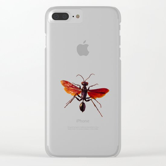Insect Clear iPhone Case