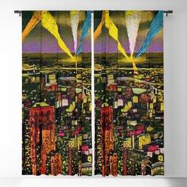 New York City and Brooklyn Skyline circa 1932 Blackout Curtain
