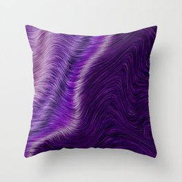 Purple daze 23 Throw Pillow