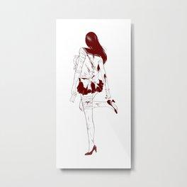 Sailor Mars Metal Print