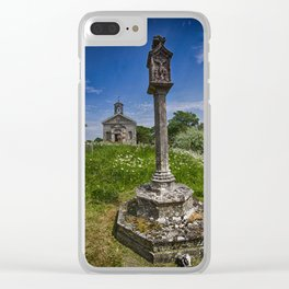St Mary Glynde Clear iPhone Case